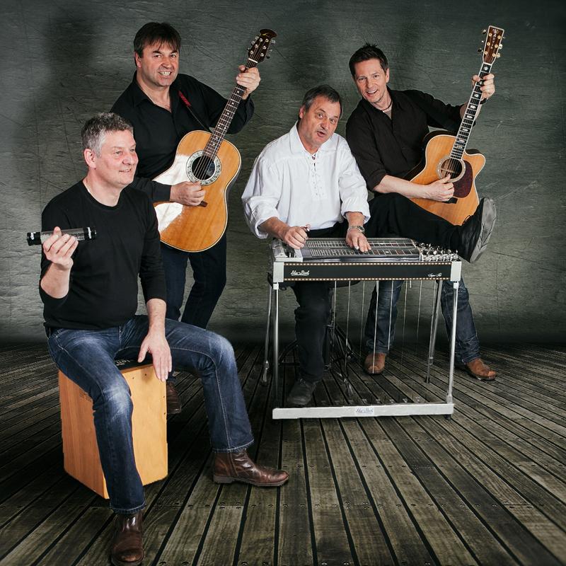 Klaus,Robert, Uli und Markus